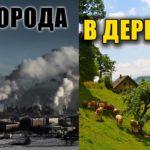 Причины переезда из города в деревню